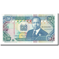 Billet, Kenya, 20 Shillings, 1993-09-14, KM:31a, NEUF - Kenia