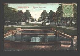 Brussel / Bruxelles - Square Ambioris - 1910 - Places, Squares