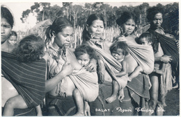 DALAT - Carte Photo - Femmes Et Bébés Moîs - Vietnam