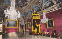 CARTOLINA - MONACO - LE PALAIS DE S.A.S. - LE PRINCE DE MONACO , LA SALLE DU TRONE  - VIAGGIATA PER MILANO - Palazzo Dei Principi