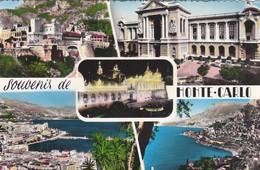 CARTOLINA - MONACO - SOUVENIR DE MONTE - CARLO - VIAGGIATA PER CASSANO D' ADDA (MILANO) - Monte-Carlo