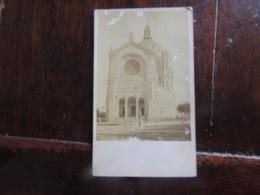 EGLISE ST AUGUSTIN  ORIGINALE FORMAT CARTE DE VISITE   RARE - Fotos