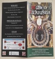 FOLLETO TURÍSTICO MUSEO PILARISTA. ZARAGOZA - ESPAÑA. - Folletos Turísticos