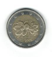 EURO //FINLANDE  2005  Pièce De 2 Euros De Circulation //usage Courant Bon Etat - Finlande
