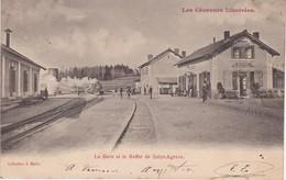 ST AGREVE La Gare Et Le Buffet - Saint Agrève
