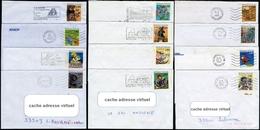 N°2836 à 2847 (1993) Sur 12 Lettres  (voir Les 3 Scans) - France