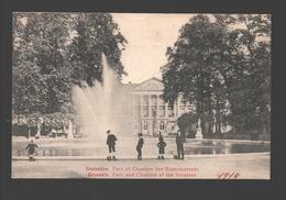 Brussel / Bruxelles - Parc Et Chambre Des Représentants - Animée - Enfants / Kinderen - 1914 - Forêts, Parcs, Jardins