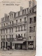 GUERET GRAND HOTEL CENTRAL VVE GIRAUDON - Guéret