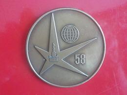 Expo 1958  Broche? Badge? Exposition Universelle 58 Bruxelles - Saisons & Fêtes