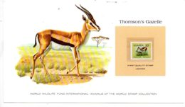 Animals Of The Worl Stamp Collection - Thomson's Gazelle - Uganda-voir état - Other