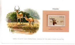 Animals Of The Worl Stamp Collection - Impala - Namibia-voir état - Other