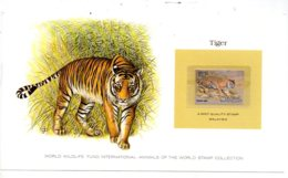 Animals Of The Worl Stamp Collection - Tiger - Malaysia-voir état - Other