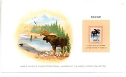 Animals Of The Worl Stamp Collection - Moose - USA-voir état - Other