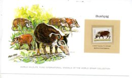 Animals Of The Worl Stamp Collection - Bushpig -Bophuthatswana-voir état - Other