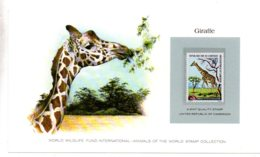 Animals Of The Worl Stamp Collection - Giraffe-Cameroon-voir état - Other