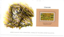 Animals Of The Worl Stamp Collection - Cheetah - Tchad-voir état - Other