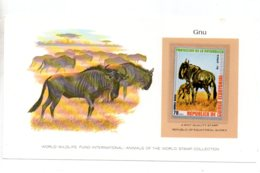 Animals Of The Worl Stamp Collection - Gnu-Guinea-voir état - Other