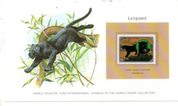 Animals Of The Worl Stamp Collection - Leopard - Mongolia-voir état - Other