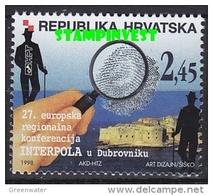 Croatia 1998 Interpol 1v ** Mnh (43026P) - Kroatië