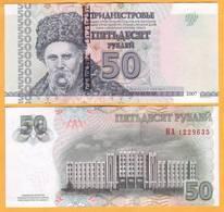 2012 Moldova ; Moldavie ; Moldau  Transnistria Tiraspol  50 RUB   1229635 UNC - Moldavia