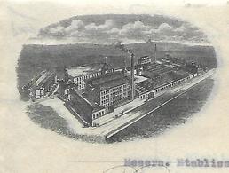 Facture Double 1922 / ANGLETERRE /  HALIFAX / BRUNSWICK / Filature 70 LUXEUIL St SAUVEUR - Reino Unido