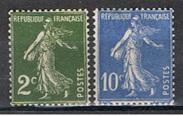 2F 53 FRANCE // YVERT 278, 279 // 1932-37   NEUF - France