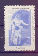 CINDERELLA  ERINOFILO EXPOSITION FILATELICA GRAN CANARIA 1956  (GIUGN1900B112) - Erinnofilia