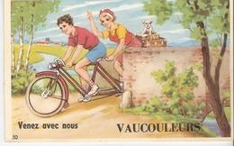 55 VAUCOULEURS ,carte A SYSTEME Avec Ses 10 Vues De VAUCOULEURS A L'intérieur (complet) - France
