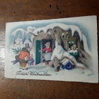 Cartolina Postale Illustrata 1933, Buon Natale - Weihnachten