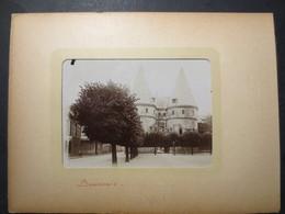 60 - Beauvais - Photo Originale - Le Château - Les Tours Du Palais De Justice - 1900 - TBE - - Places