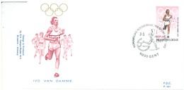 BELGIUM - 3.5.1980 - FDC - IVO VAN DAMME - RODAN 591 - GENT - COB 1974 - Lot 19607 - 1971-80