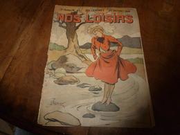 1908 NOS LOISIRS : Couv.de Fréjean;Chercheurs De Trésors Du Lac Némi;Pour Vivre Longtemps:Fortune Avec Les Escargots;etc - Livres, BD, Revues