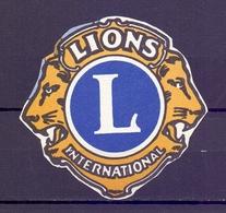 CINDERELLA  ERINOFILO LIONS INTERNATIONAL  (GIUGN1900B114) - Erinnofilia