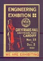 CINDERELLA  ERINOFILO ENGINEERING EXIBITION 1932   (GIUGN1900B115) - Erinnofilia