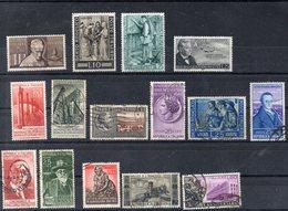ITALIE   Timbres  De 1955 En Lot  ( Ref 6485 )  Voir Descriptif - 1946-.. République