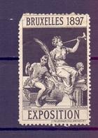 CINDERELLA  ERINOFILO BRUXELLES 1897 EXPOSITION    (GIUGN1900B116) - Erinnofilia