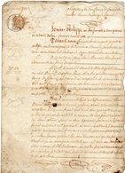 Obligation En Faveur De Michel Daniel Du Bourg De Plamel (56)  Jean Louis Daniel Boulanger Au Bourg De Crach - 1839 - Vieux Papiers