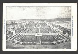 Brussel / Bruxelles - Panorama De Bruxelles En 1830 - Dos Simple - Panoramische Zichten, Meerdere Zichten
