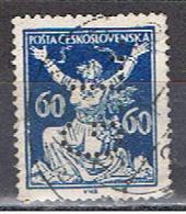 (TX 13) TCHECOSLOVAQUIE // YVERT 169 // PERFORE / PERFIN //  1920-25 - Oblitérés