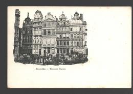 Brussel / Bruxelles - Maisons Dorées - Dos Simple - Multi-vues, Vues Panoramiques