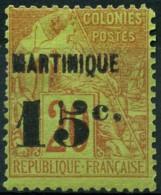 Martinique (1888) N 16 * (charniere) - Martinique (1886-1947)