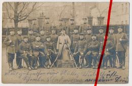 Original Foto - Köln Cöln - 1914 - Soldaten - 4. Korporalschaft - Köln
