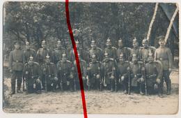 Original Foto - Zerbst - Ca. 1914 - Soldaten Mit Gewehr Und Pickelhaube - Schießausbildung - Zerbst