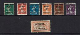 MEMEL...1920...mh - Memel (1920-1924)