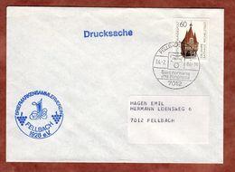 Drucksache, Rathaus Michelstadt, SoSt Fellbach 1984 (74735) - Covers & Documents