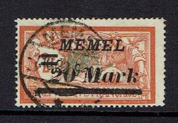 MEMEL...1922...used - Memel (1920-1924)