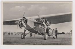 Vintage Pc KLM K.L.M. Royal Dutch Airlines Fokker F-VIIA @ Soesterberg Airport - 1919-1938: Between Wars