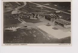 Vintage Rppc Airport Waalhaven KLM K.L.M. Fokker F-8, Lufthansa D-2500 Junkers G-38 Aircraft - 1919-1938: Between Wars