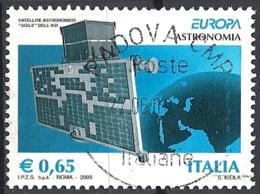 Italia, 2009 Europa, 0.65€ # Sassone 3086 - Michel 3295 - Scott 2927  USATO - 6. 1946-.. Repubblica