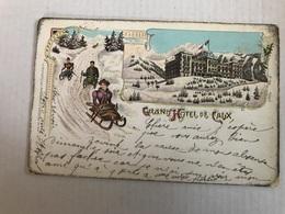 Grand Hôtel De CAUX En 1903 - Schweiz
